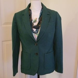 Vintage green Pendleton wool blazer medium